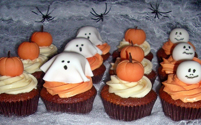 cupcake recipes for kids - halloween cupcakes