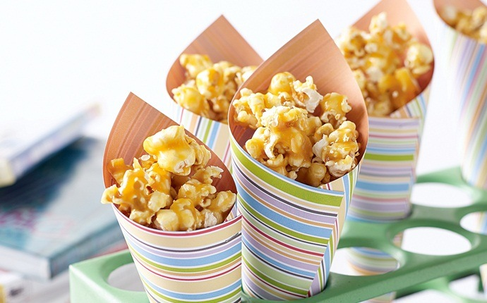 christmas recipes for kids - honey-caramel popcorn
