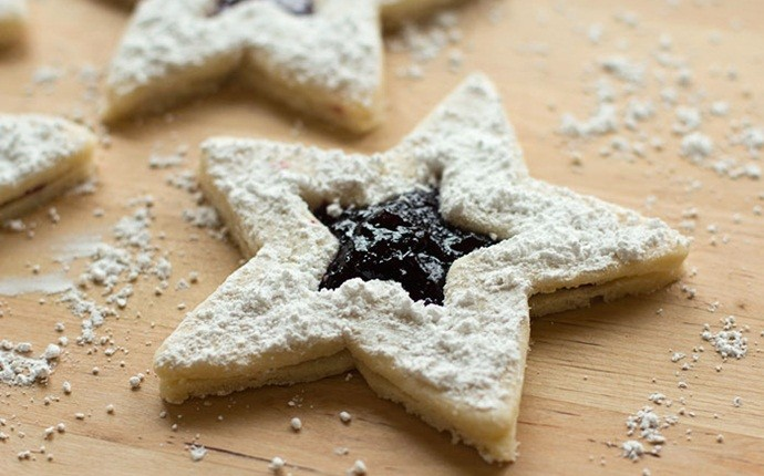 christmas recipes for kids - jam stars