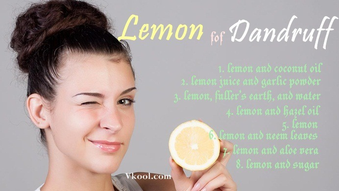 how to use lemon for dandruff