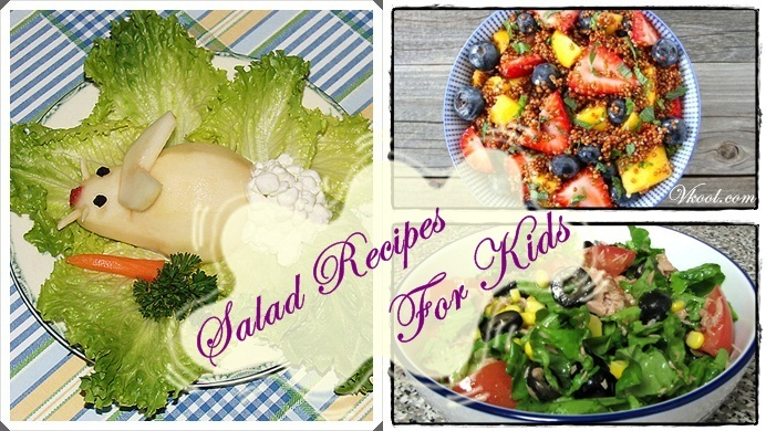 healthy salad recipes for kids