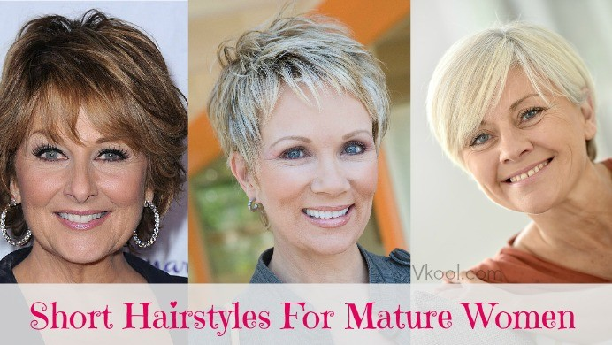 Hairstyles For Mature Faces