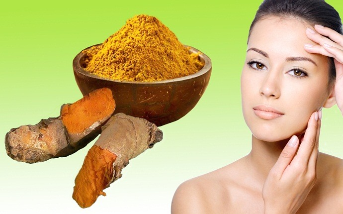 bridal facial at home - turmeric pack for instant fairness