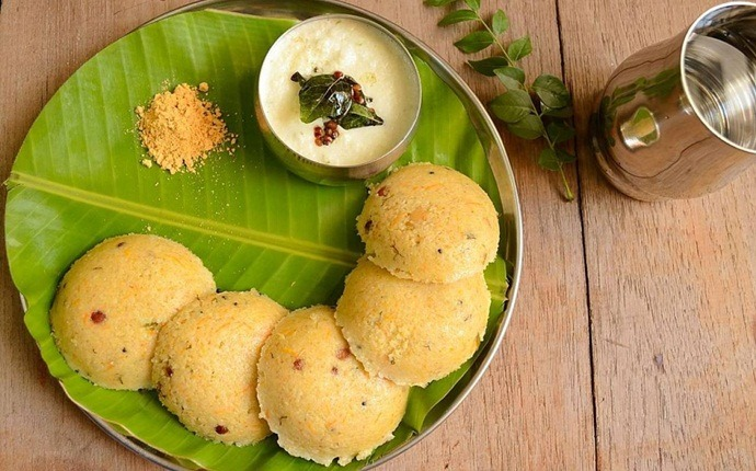 breakfast recipes for diabetics - wheat rava idlis