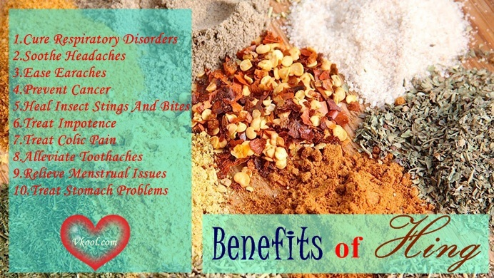health benefits of hing