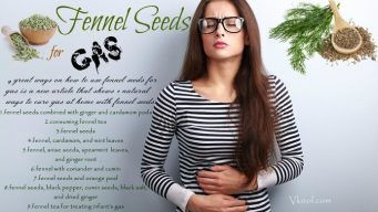 how to use fennel seeds for gas