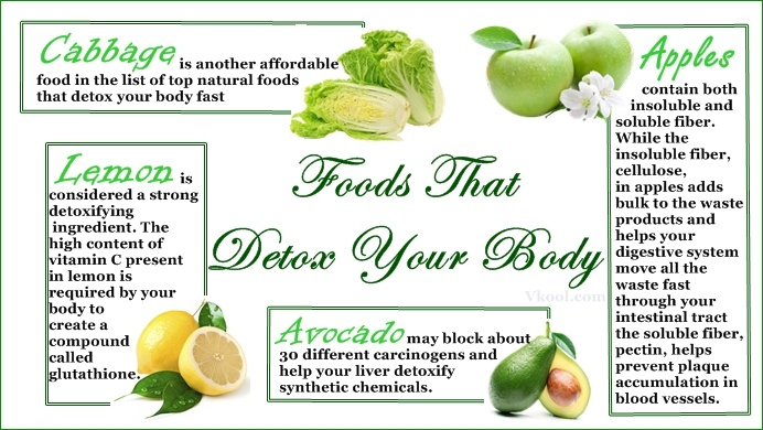 natural foods that detox your body