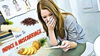 how to induce a miscarriage naturally