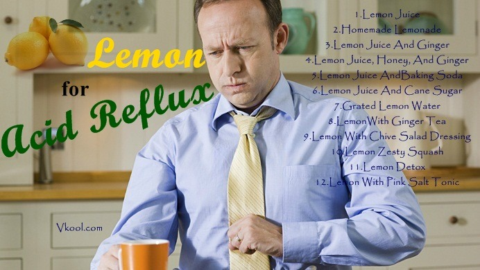 how to use lemon for acid reflux