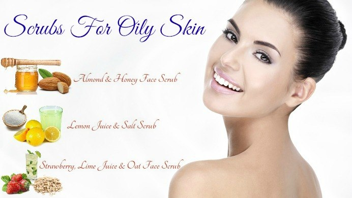 homemade scrubs for oily skin