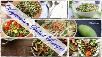 healthy vegetarian salad recipes