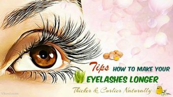 how to make your eyelashes longer & thicker