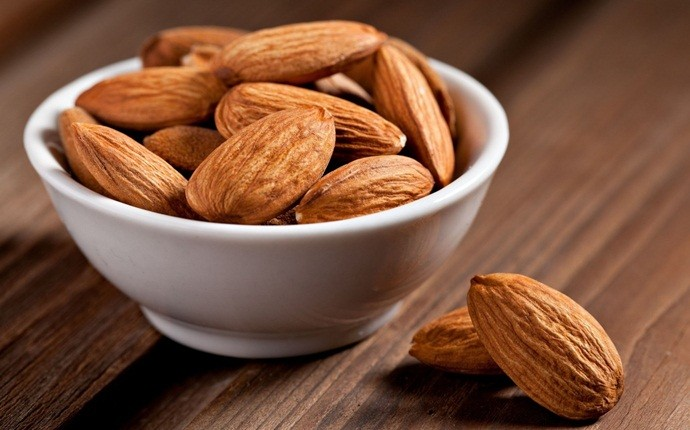 home remedies for pigmentation marks - almonds