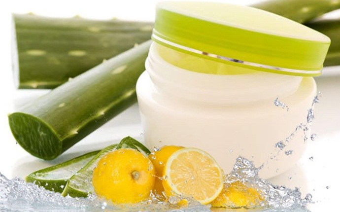 home remedies for sore gums - aloe vera gel
