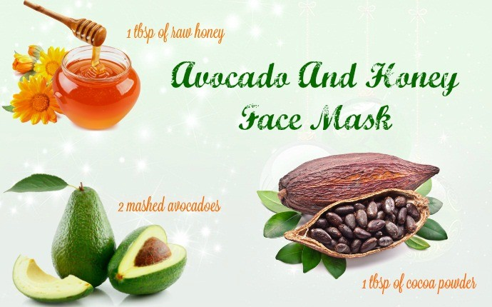 16 natural homemade face masks for acne scars avocado and honey face mask solutioingenieria
