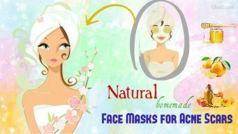 homemade face masks for acne scars