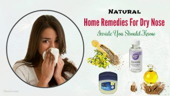 home remedies for dry nose inside