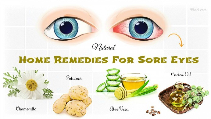 home remedies for sore eyes in children