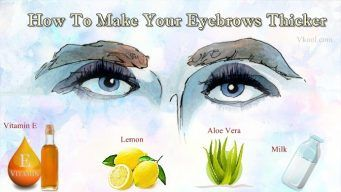 how to make your eyebrows thicker and darker