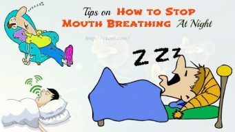 how to stop mouth breathing at night
