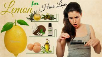 how to use lemon for hair loss