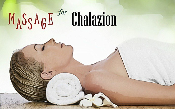 home remedies for chalazion - massage