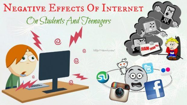 negative effects of internet on students Summary: the internet has forever changed the world in both positive and negative ways the internet enables one to find information any time of day, as well as.
