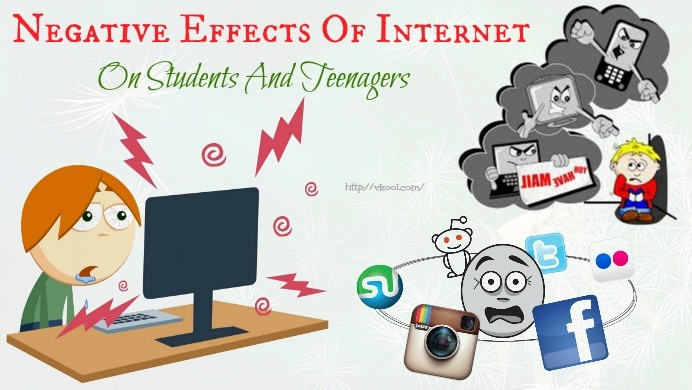 negative effects of internet on students