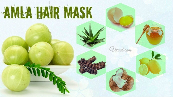 how to make amla hair mask