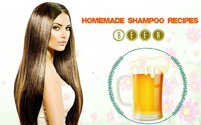 homemade shampoo recipes - beer