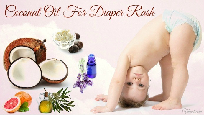 how to use coconut oil for diaper rash