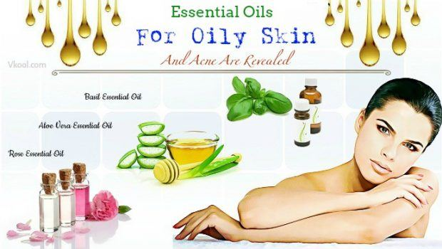 essential oils for oily skin and acne