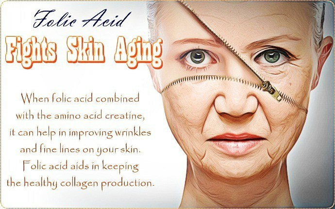folic acid for hair - folic acid fights skin aging