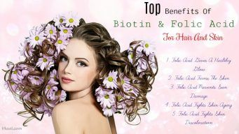 benefits of folic acid for hair and skin