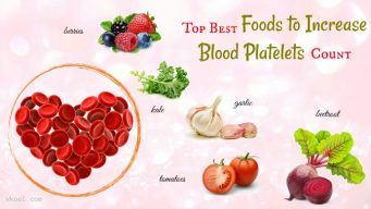 best foods to increase blood platelets
