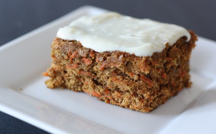 healthy carrot recipes - healthier carrot cake iii