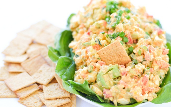healthy carrot recipes - healthy egg salad