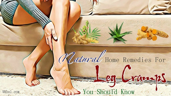 natural home remedies for leg cramps