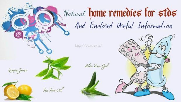 natural home remedies for stds
