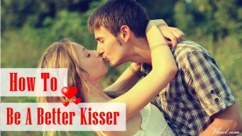 tips on how to be a better kisser