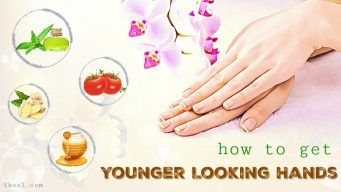 how to get younger looking hands overnight