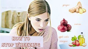 how to stop wheezing at home