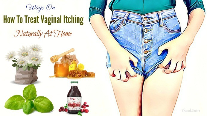 how to treat vaginal itching naturally