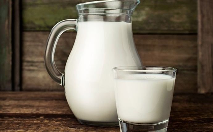 how to increase muscle strength - milk