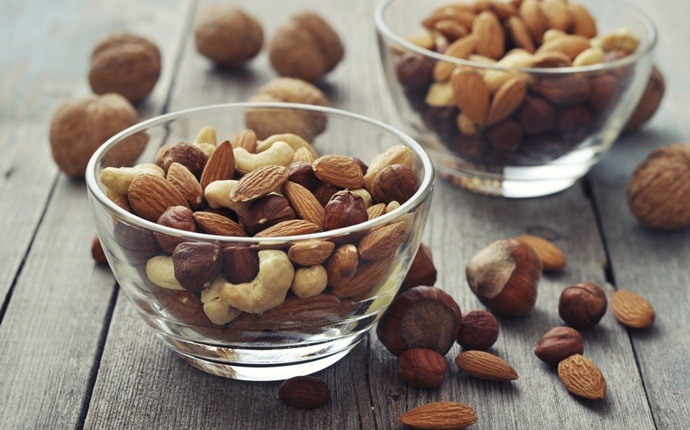 how to increase muscle strength - mixed nuts