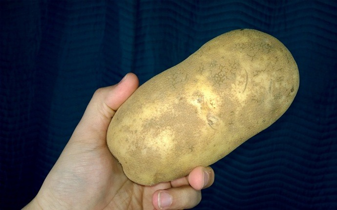 how to get clear skin - potato