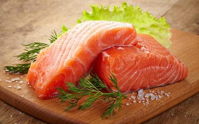how to increase muscle strength - salmon