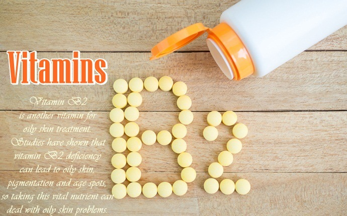 vitamins for oily skin control - vitamin b2