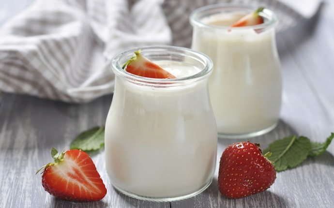 how to increase muscle strength - yogurt
