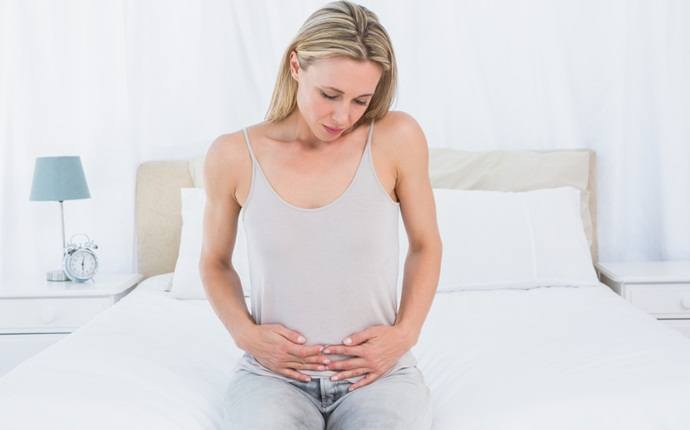 symptoms of fibroids - abdominal swelling